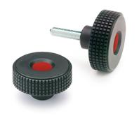 Ganter Normelemente DIN 464-M4-5 464-M4-5-Hohe R/ändelschrauben 5mm Gewindel/änge l 15 St/ück