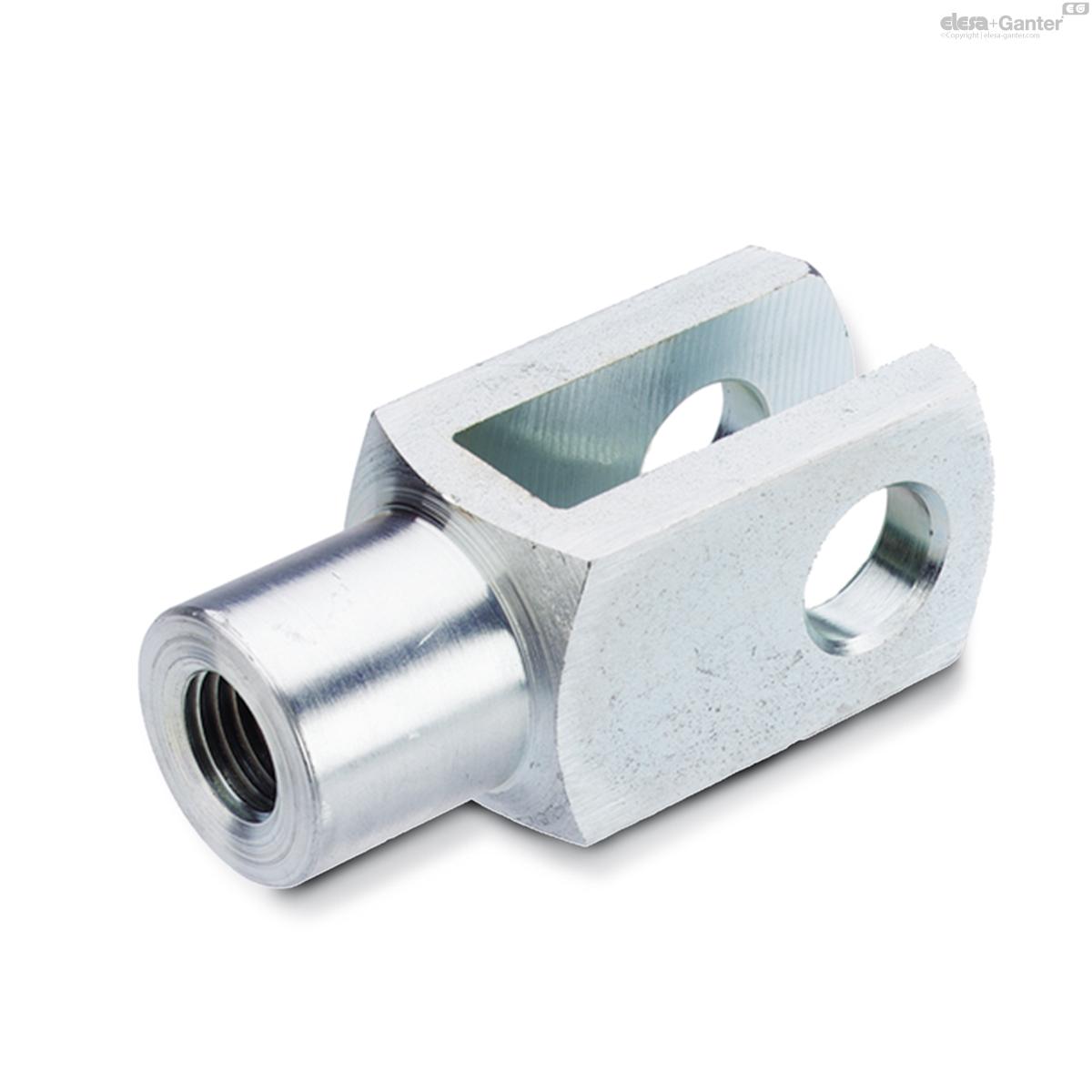 M6-M20 Gabelkopf für Luftzylinder Pneumatikzylinder
