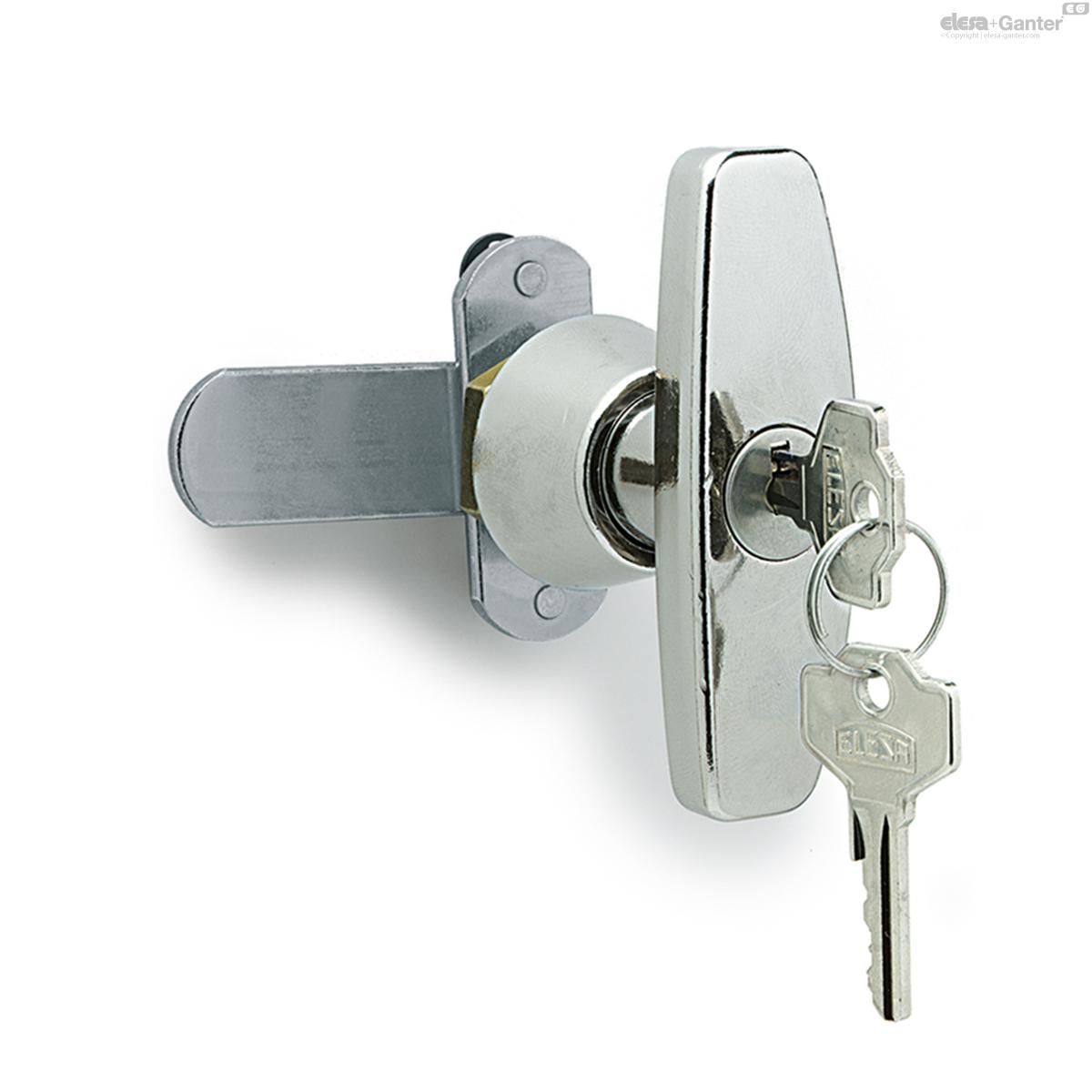 d936aaa8ef5f Cerraduras de manilla con empuñadura en T | Elesa+Ganter