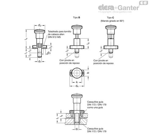 nos nuevo Control deslizante log 47kω57 con tres grabadores RDA