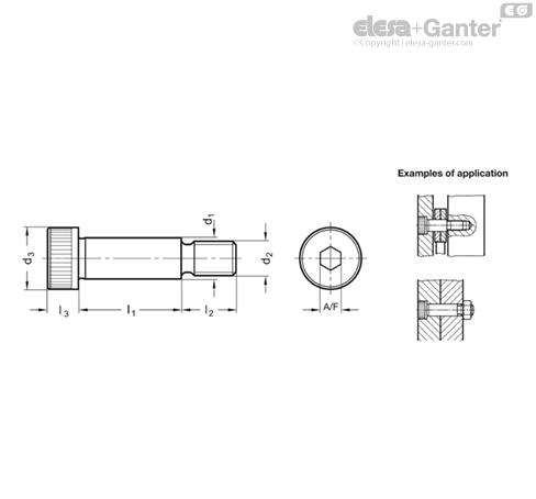 Shoulder screws | Elesa+Ganter