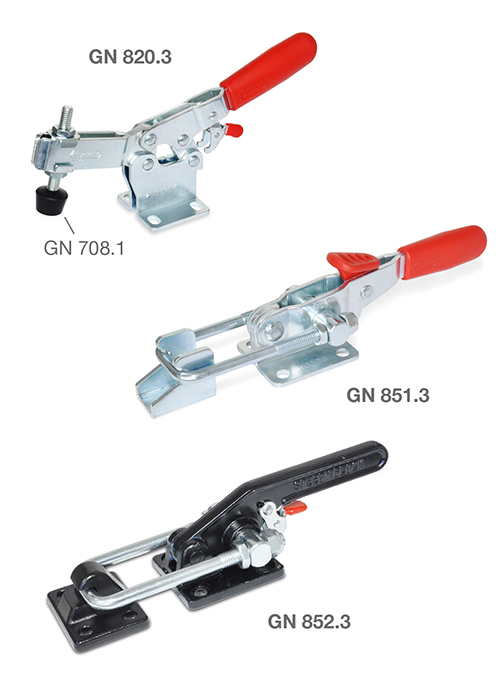 Toggle clamp product range expanded