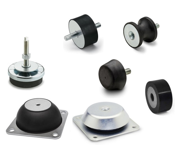 Vibration-damping elements
